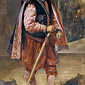 The Jester Named Don John Of Austria by Diego Velazquez