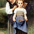 The Jewel Of The Fields by William Bouguereau