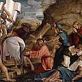 The Journey To Calvary, C.1540 by Jacopo Bassano