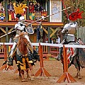 The Jousters 3 by Rodney Lee Williams