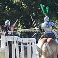 The Jousting Contest  by John Telfer