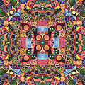 The Joy Of Design Mandala Series Puzzle 2 Arrangement 1 by Helena Tiainen