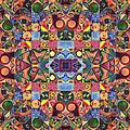 The Joy Of Design Mandala Series Puzzle 2 Arrangement 9 by Helena Tiainen