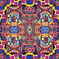 The Joy Of Design Mandala Series Puzzle 3 Arrangement 1 by Helena Tiainen
