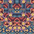 The Joy Of Design Mandala Series Puzzle 5 Arrangement 1 by Helena Tiainen