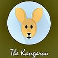 The Kangaroo Cute Portrait by Florian Rodarte