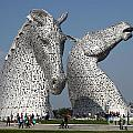 The Kelpies by Ros Drinkwater