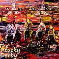 The Kentucky Derby - And They're Off Without Year  by Mark Moore