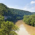 The Kentucky River by Alexey Stiop