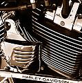 The King - Harley Davidson Road King Engine