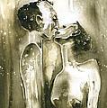 The Kiss by Miki De Goodaboom