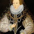 The Kitchener Portrait Of Queen by English School