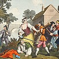 The Knight Submits To Trulla by William Hogarth