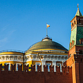The Kremlin Senate Building by Alexander Senin
