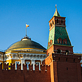 The Kremlin Senate Building - Square by Alexander Senin