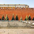 The Kremlin Wall - Square by Alexander Senin
