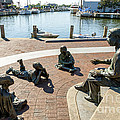 The Kunta Kinte-alex Haley Memorial In Annapolis by William Kuta