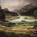The Labro Falls At Kongsberg by Thomas Fearnley