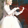 The Lady With The Violin by Alice Gipson