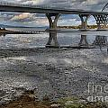 The Lake Champlain Bridge From Cown Point by Adam Jewell