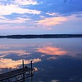 The Lake Is A Mirror by Pat Purdy