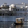 The Lake Palace, India by John Shaw