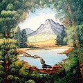 The Lake Path by Sylviane Nuccio