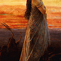 The Lament Of Jephthahs Daughter by George Elgar Hicks