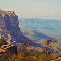The Landslide Katoomba by Graham Gercken