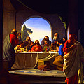 The Last Supper By Carl Heinrich Bloch by Don Kuing