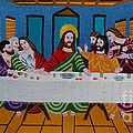 The Last Supper Hand Embroidery by To-Tam Gerwe