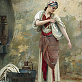The Laundress by Theodoros Rallis