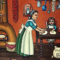 The Lesson Or Making Tortillas by Victoria De Almeida