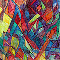 The Letter Alef 3 by David Baruch Wolk