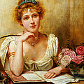 The Letter  by George Goodwin Kilburne