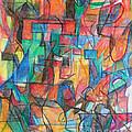 The Letter Tav 2 by David Baruch Wolk