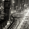 The Light River Of Dubai by Ahmed Thabet