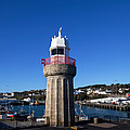 The Lighthouse And Fishing Harbour by Panoramic Images