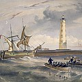 The Lighthouse At Cape Chersonese by William 'Crimea' Simpson
