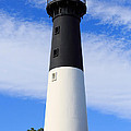 The Lighthouse At Hunting Island State Park In South Carolina by Louise Heusinkveld