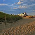 The Lighthouse Inn At Dusk by Marisa Geraghty Photography