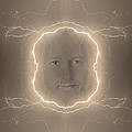 The Lightning Man Sepia by James BO Insogna