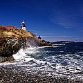 The Ligthouse At West Quoddy by Skip Willits