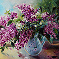 The Lilac On The Window by Julija Demenkova