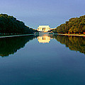 The Lincoln Memorial At Sunrise by Panoramic Images