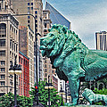 The Lions Of Chicago by Lydia Holly