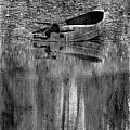 The Little Boat Photoart by Debbie Portwood