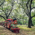 The Little Engine That Could - City Park New Orleans by Kathleen K Parker