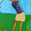 The Little Golfer by Habib Ayat