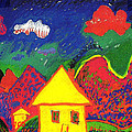 The Little House In The Montains by Jean-Claude Delhaise